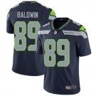 Seahawks #89 Doug Baldwin Steel Blue Men's Stitched Limited Jersey