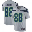 Seahawks #88 Jimmy Graham Grey Men's Stitched Limited Jersey