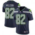 Seahawks #82 Luke Willson Steel Blue Men's Stitched Limited Jersey