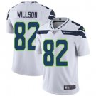 Seahawks #82 Luke Willson White Men's Stitched Limited Jersey