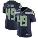 Seahawks #49 Shaquem Griffin Steel Blue Men's Stitched Limited Jersey
