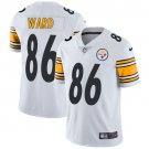 Steelers #86 Hines Ward White Men's Stitched Limited Jersey