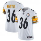 Steelers #36 Jerome Bettis White Men's Stitched Limited Jersey