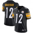 Steelers #12 Terry Bradshaw Black Men's Stitched Limited Jersey
