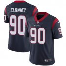 Texans #90 Jadeveon Clowney Navy Blue Men's Stitched Limited Jersey