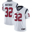 Texans #32 Tyrann Mathieu White Men's Stitched Limited Jersey