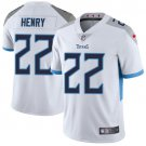 Titans #22 Derrick Henry White Men's Stitched Limited Jersey