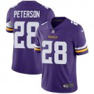 Vikings #28 Adrian Peterson Purple Men's Stitched Limited Jersey