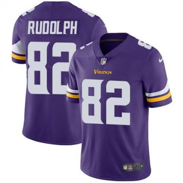 los angeles 180cb b2a6d Vikings #82 Kyle Rudolph Purple Men's Stitched Limited Jersey