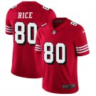 49ers #80 Jerry Rice Red 2018 Vapor Untouchable Limited Jersey