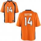 Broncos #14 Courtland Sutton Orange Elite Jersey