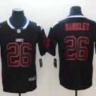 Giants 26 Saquon Barkley Black Shadow Legend Limited Jersey