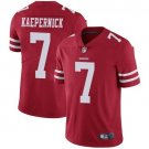 Men's San Francisco 49ers #7 Colin Kaepernick Red Stitched Untouchable Jersey