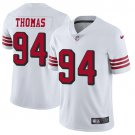 49ers #94 Solomon Thomas White Rush Men's Stitched Limited Jersey