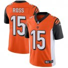 Bengals #15 John Ross Orange Men's Stitched Limited Jersey