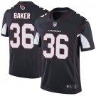 Cardinals #36 Budda Baker Black Men's Stitched Limited Jersey