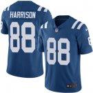 Colts #88 Marvin Harrison Royal Blue Men's Stitched Limited Jersey