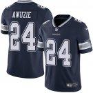 Cowboys #24 Chidobe Awuzie Navy Blue Men's Stitched Limited Jersey