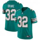 Dolphins #32 Kenyan Drake Aqua Green Men's Stitched Limited Jersey