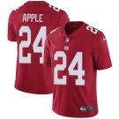 Giants #24 Eli Apple Red Men's Stitched Limited Jersey