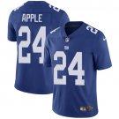 Giants #24 Eli Apple Royal Blue Men's Stitched Limited Jersey