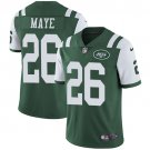 Jets #26 Marcus Maye Green Men's Stitched Limited Jersey
