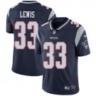 Patriots #33 Dion Lewis Navy Blue Men's Stitched Limited Jersey