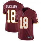 Redskins #18 Josh Doctson Burgundy Red Men's Stitched Limited Jersey