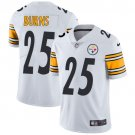 Steelers #25 Artie Burns White Men's Stitched Limited Jersey