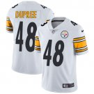 Steelers #48 Bud Dupree White Men's Stitched Limited Jersey