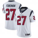 Texans #27 D'Onta Foreman White Men's Stitched Limited Jersey