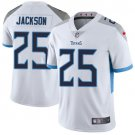 Titans #25 Adoree' Jackson White Men's Stitched Limited Jersey