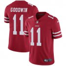 49ers #11 Marquise Goodwin Red Men's Stitched Limited Jersey