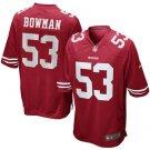 Navorro Bowman 49ers Game Jersey - Scarlet