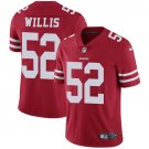 49ers #52 Patrick Willis Red Men's Stitched Limited Jersey