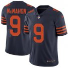 Bears #9 Jim McMahon Navy Blue Men's Stitched Limited Jersey