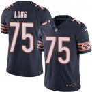 Bears #75 Kyle Long Navy Blue Men's Stitched Limited Jersey