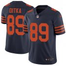 Bears #89 Mike Ditka Navy Blue Men's Stitched Limited Jersey