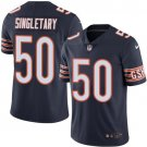 Bears #50 Mike Singletary Navy Blue Men's Stitched Limited Jersey