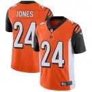Bengals #24 Adam Jones Orange Men's Stitched Limited Jersey