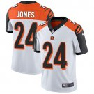 Bengals #24 Adam Jones White Men's Stitched Limited Jersey