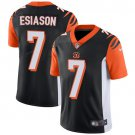 Bengals #7 Boomer Esiason Black Men's Stitched Limited Jersey