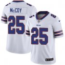 Bills #25 LeSean McCoy White Men's Stitched Limited Jersey