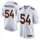 Broncos #54 Brandon Marshall White Men's Stitched Game Event Jersey