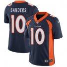 Broncos #10 Emmanuel Sanders Navy Blue Men's Stitched Limited Jersey