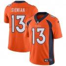 Broncos #13 Trevor Siemian Orange Men's Stitched Limited Jersey