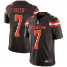 Browns #7 DeShone Kizer Brown Men's Stitched Limited Jersey