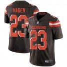 Browns #23 Joe Haden Brown Men's Stitched Limited Jersey