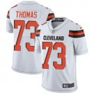 Browns #73 Joe Thomas White Men's Stitched Limited Jersey