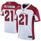 Cardinals #21 Patrick Peterson White Men's Stitched Limited Jersey